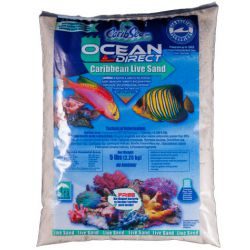 Грунт Carib Sea Ocean Direct Oolite – живой оолитовый песок 0,1-0,7мм 2,27кг