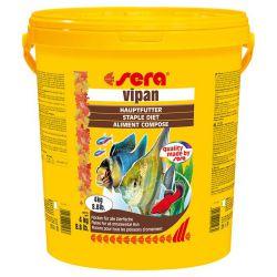 SERA Vipan – Основной корм для всех видов рыб 20 л / 4 кг