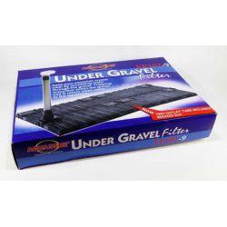 KW zone Under Gravel Filter FP 101-9 – Фильтр донный (фальшдно) 86x43х2.5 см