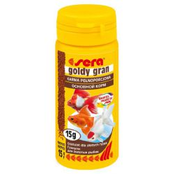SERA goldy gran – Гранулированный корм для золотых рыбок 50 мл (15 г)