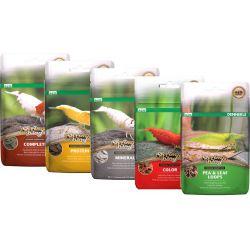 Dennerle Shrimp King 5in1 - Набор из пяти разных кормов для аквариумных креветок, 5 шт х 6г