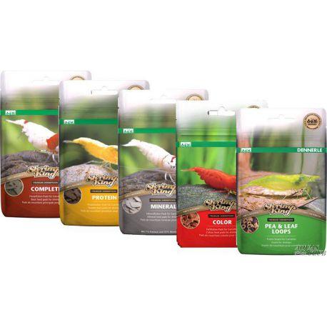 Dennerle Shrimp King 5in1 - Набор из пяти разных кормов для аквариумных креветок, 5 шт х 6 г