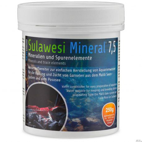 SaltyShrimp Sulawesi Mineral 7,5 – Минерализатор воды 250 г