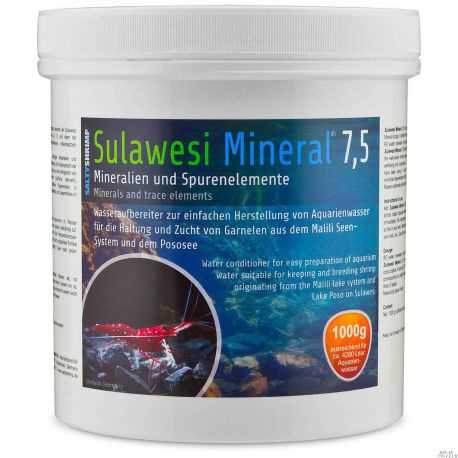 SaltyShrimp Sulawesi Mineral 7,5 – Минерализатор воды 1000 г