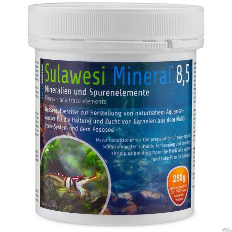 SaltyShrimp Sulawesi Mineral 8,5 – Минерализатор воды 250 г