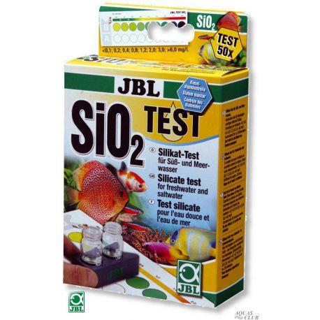 JBL SiO₂ Silicat Test – Тест на силикат (кремнёвую кислоту)