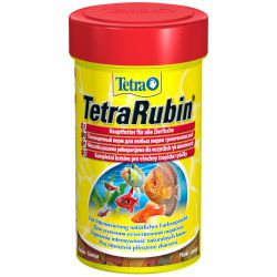 Tetra TetraRubin 100 мл – Корм для усиления естественной окраски рыб