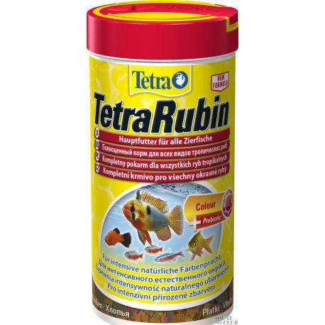 Tetra TetraRubin – Корм для усиления естественной окраски рыб 250мл