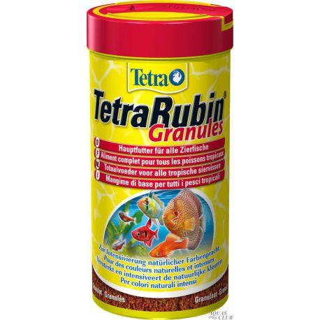 Tetra TetraRubin Granules – Корм гранулированный для усиления окраски 250мл