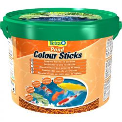 Tetra Pond Colour Sticks 10 л – Плавающие палочки для усиления окраса прудовых рыб