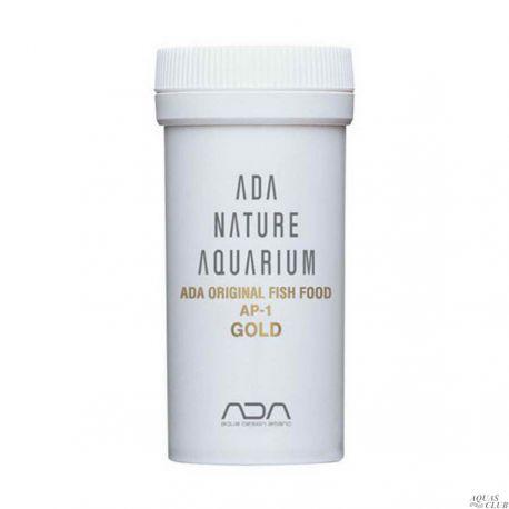 ADA Fish Food AP-1 GOLD 25 г – Высокопитательный корм премиум класса в форме гранул для мальков и мелких рыб