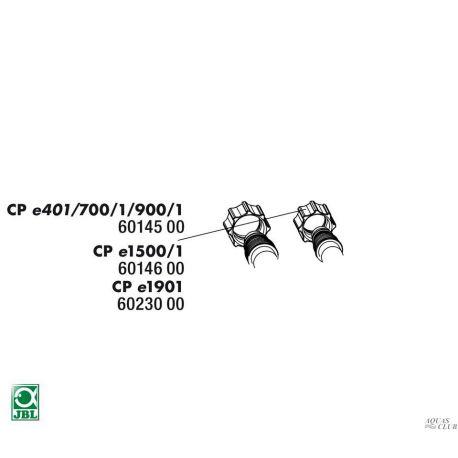Гайка фиксации шлангов для внешнего фильтра JBL CP e401, e700/1, e900/1, 2шт