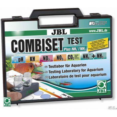 JBL Test Combi Set Plus NH4 - Водонепроницаемый чемодан, содержащий набор из 5-ти тестов