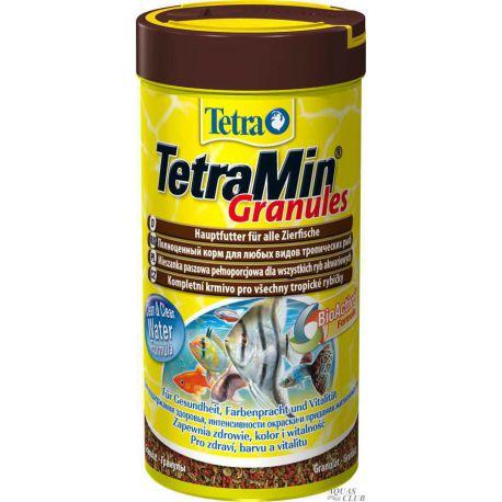 Tetra TetraMin Granules – Гранулированный корм для всех видов декоративных рыб 250мл