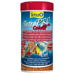 Tetra TetraPro Colour 250 мл – Высококачественный корм для усиления окраса
