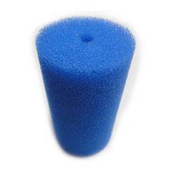 Губка фильтрующая Roof Foam с отверстием 150х80d мм, PPI30, синяя