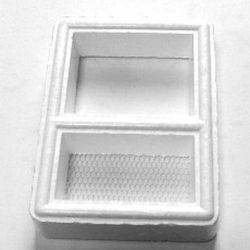 Кормушка пенопластовая малая 7.5x5.5см