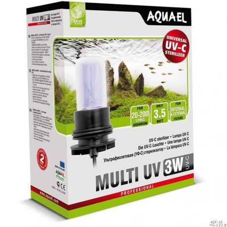 AQUAEL MULTI UV 3W