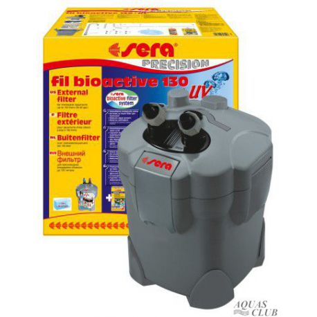 Фильтр внешний SERA fil BIOACTIVE 130 + UV