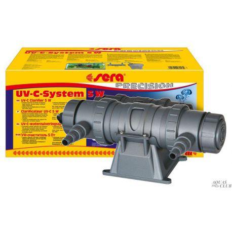 SERA UV-C System 5W – Ультрафиолетовый стерилизатор воды 5Вт