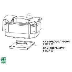 JBL CP e401/700/1/900/1 distributor plate inlet – Нижняя крышка головы фильтра