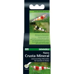 Dennerle Nano Crusta Mineral – Комплекс минералов для креветок и раков 35г