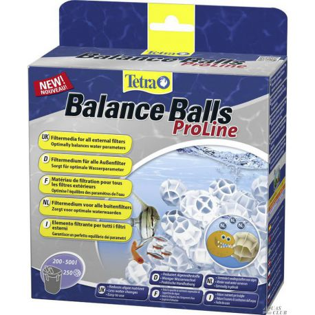 Tetra Balance Balls ProLine – Био-наполнитель для внешних фильтров 2200мл, 250шт
