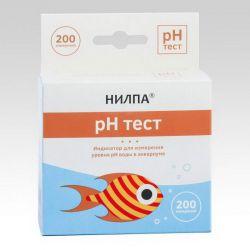 НИЛПА Тест pH – Тест для определения уровня кислотности воды