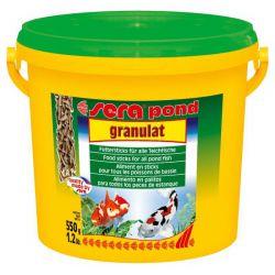 SERA pond granulat – Корм гранулированный плавающий для прудовых рыб 3,8л