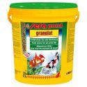 SERA pond granulat 21 л – Корм гранулированный плавающий для прудовых рыб