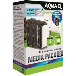 AQUAEL Media Pack для VERSAMAX MINI с PhosMAX 3шт