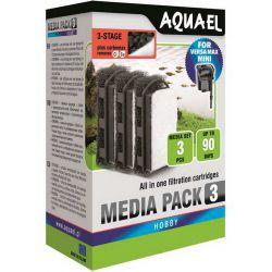 AQUAEL Media Pack для VERSAMAX MINI с CarboMAX 3шт