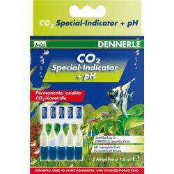 Dennerle CO2 Special Indicator + pH – Комплект специальных индикаторных жидкостей рН