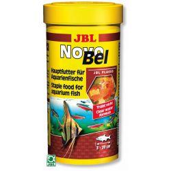 JBL NovoBel 250 мл – Основной корм в форме хлопьев для всех аквариумных рыб