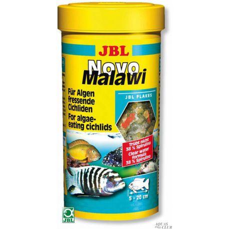 JBL NovoMalawi – Корм для растительноядных цихлид из озер Малави и Таньгаика, 250 мл