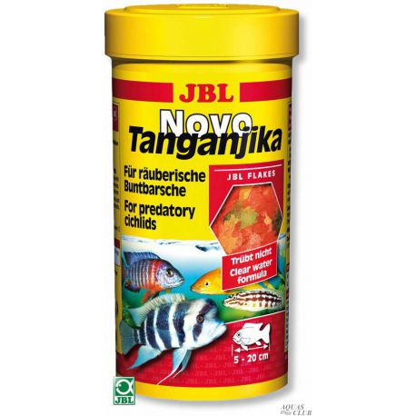 JBL NovoTanganjika – Корм для растительноядных цихлид из озер Малави и Танганьика, 250 мл