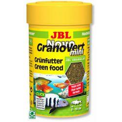 JBL NovoGranoVert mini 100 мл – Мини-гранулы для маленьких аквариумных рыб