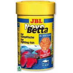 JBL NovoBetta 100 мл – Основной корм в форме хлопьев для бойцовых рыб