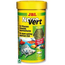 JBL NovoVert 250 мл – Корм в форме хлопьев с планктоном и спирулиной