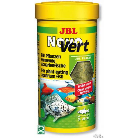 JBL NovoVert – Корм в форме хлопьев с планктоном и спирулиной, 250 мл