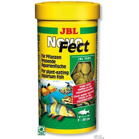 JBL NovoFect – Корм в форме таблеток для растительноядных рыб, 100 мл (160 шт)