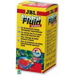 JBL NobilFluid Artemia 50 мл – Жидкий корм с артемией и витаминами для мальков