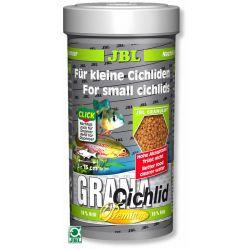 "JBL GranaCichlid 250 мл – Корм класса ""премиум"" в форме гранул для плотоядных цихлид"