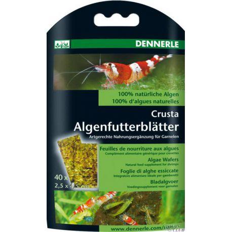 """Dennerle Nano Algae Wafers – Корм из 100% натуральных водорослей в виде """"листков"""" 40шт"""