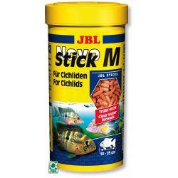 JBL NovoStick M 250 мл – Корм для плотоядных цихлид в форме палочек
