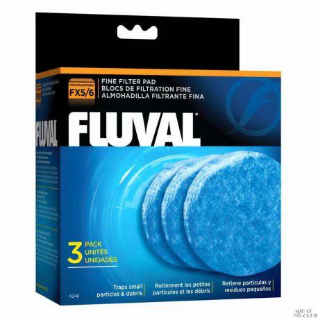Губка тонкой очистки для фильтров FLUVAL FX5/6 3шт