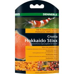 Dennerle Crusta Hokkaido Stixx – Кормовая добавка для аквариумных креветок 30г