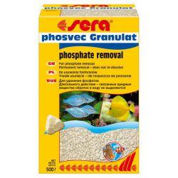 SERA phosvec Granulat 500 г – Наполнитель для удаления фосфатов