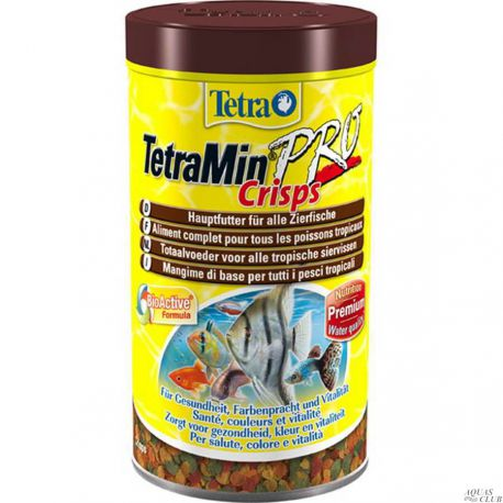 Tetra TetraMin PRO Crisps – Основной корм для тропических рыб, чипсы, 500мл