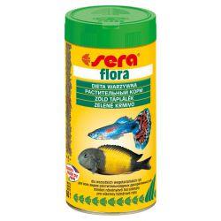 SERA flora 250 мл – Хлопья со спирулиной